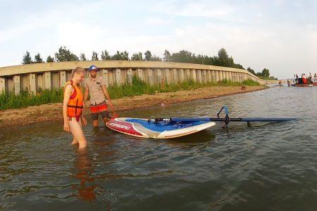 Виндсёрфинг в Иркутске