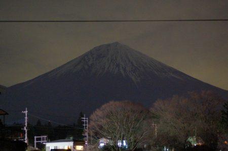 Ночной Фудзи