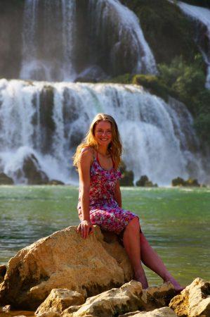 Водопад Банзек Датьян, Вьетнам