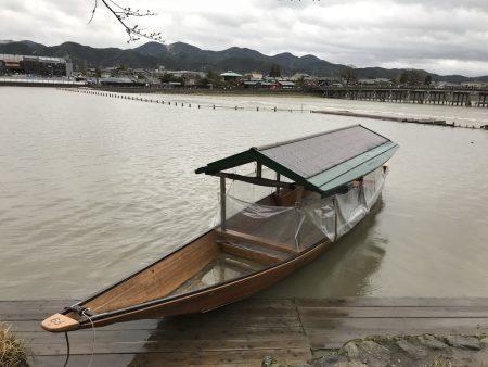 Традиционная японская лодка