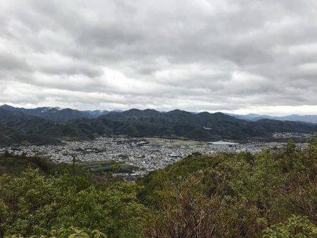 Вид на Киото с тропы