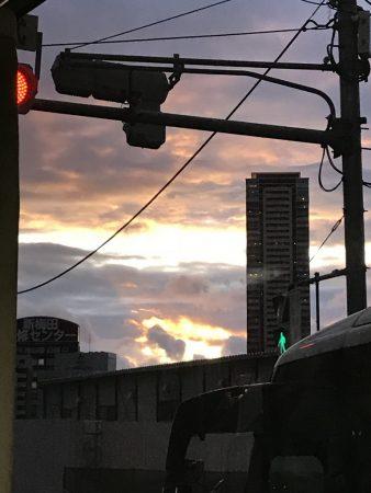 Закат в Киото