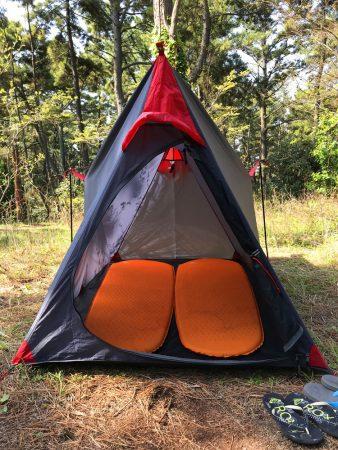 Палатка и коврики