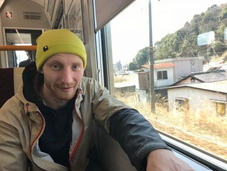 На поезде по Японии