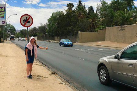 Автостопом через Африку