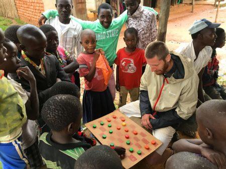 В деревне в Танзании