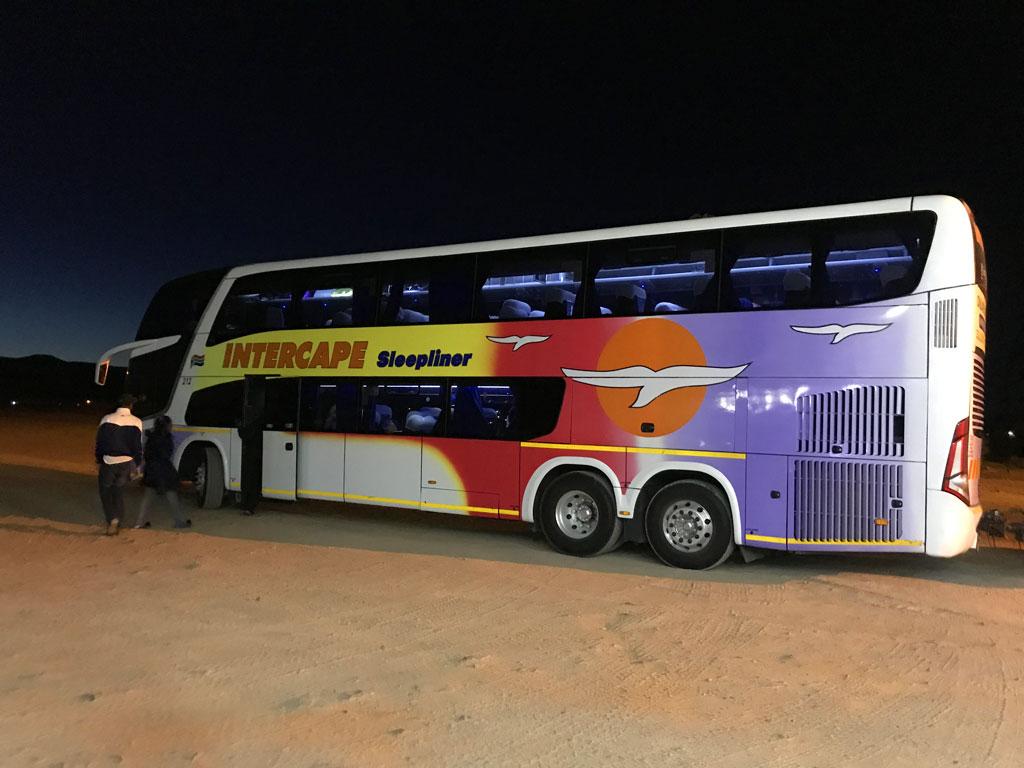Автобус ЮАР - Намибия