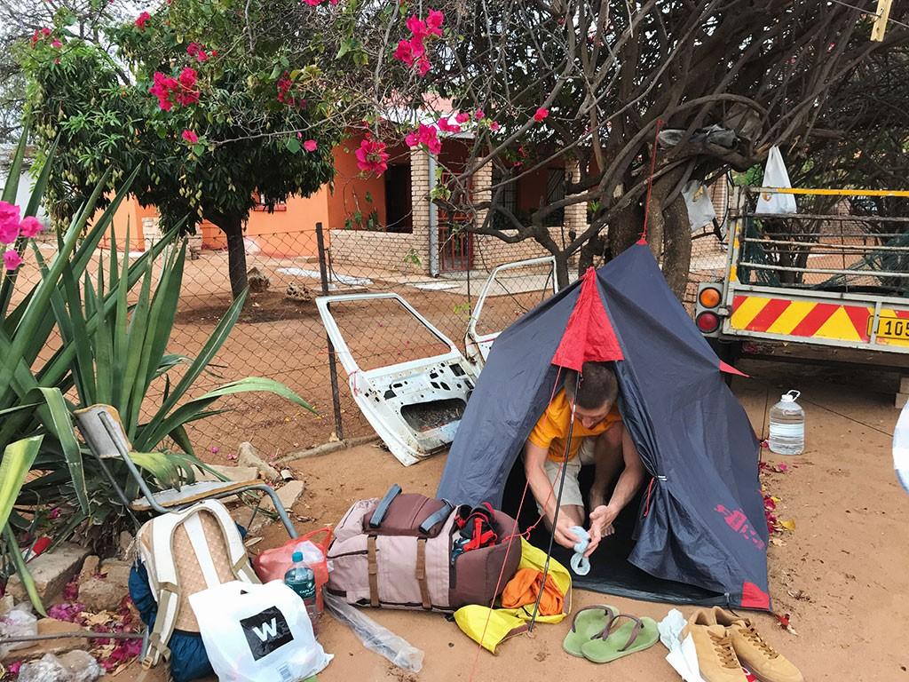 Кемпим в Тсумебе