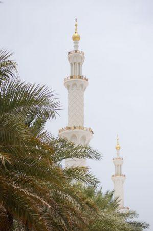 Sheikh Zayed Mosque Abu Dhabi, UAE. 24.07.2019