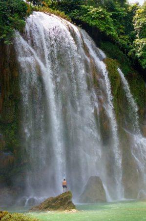 Ban Gioc waterfall, Vietnam. 23.05.2018