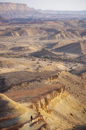 Makhtesh Ramon, Israel. 19.02.2020 1