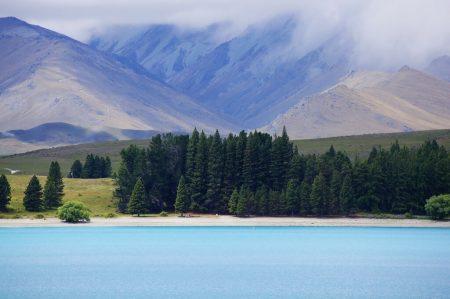 Tekapo lake, New Zealand. 20.12.2018