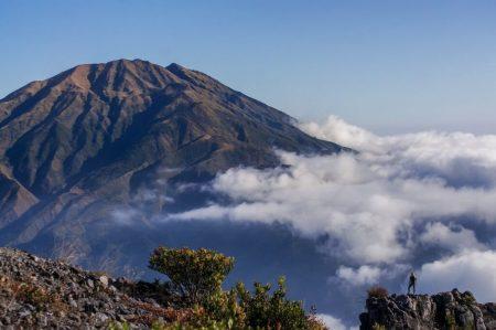 Volcano Merapi, Indonesia. 31.08.2018