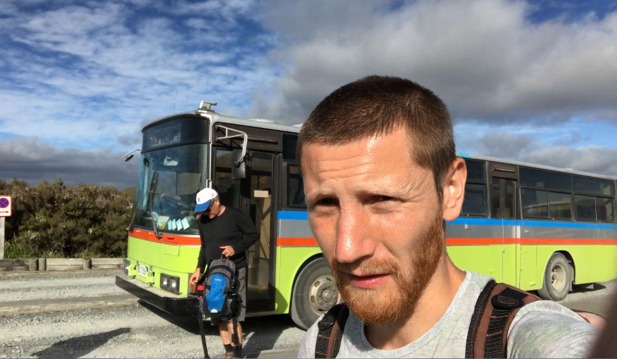Автобус до Тонгариро