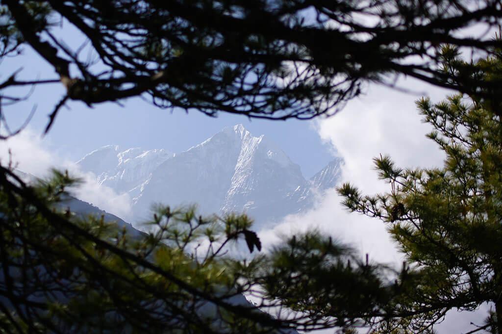 Вид на Эверест