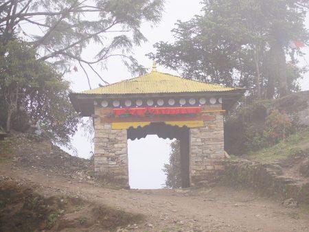 Трекинг в Непале. Вершина горы. Ворота