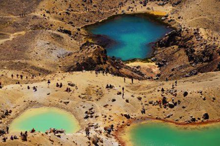 Кратерные озера Тонгариро