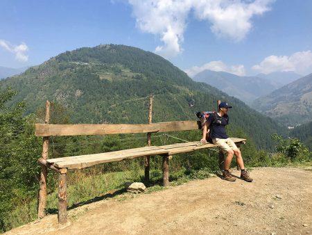Первый день трекинга в Непале