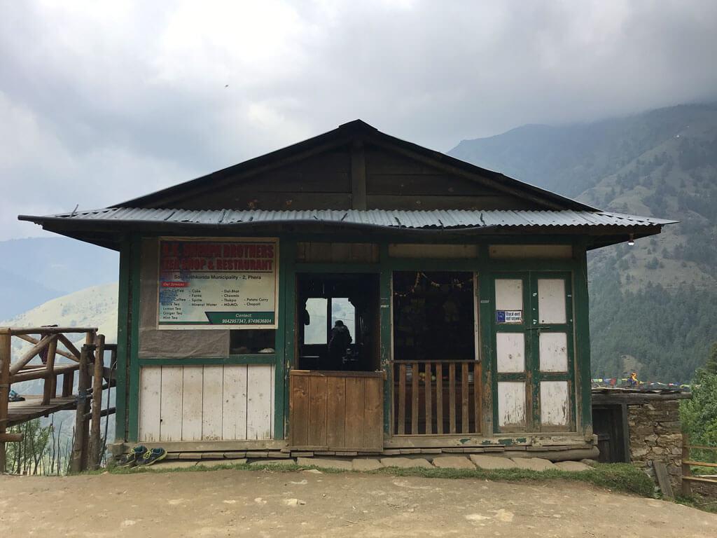 Трекинг в Непале. Чайный домик