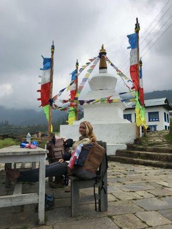 Ступа в Рингму, Непал