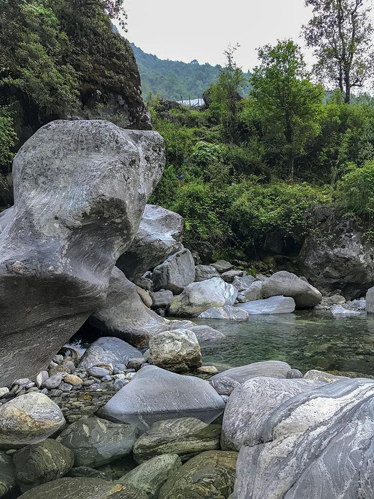 Горная река, Гималаи