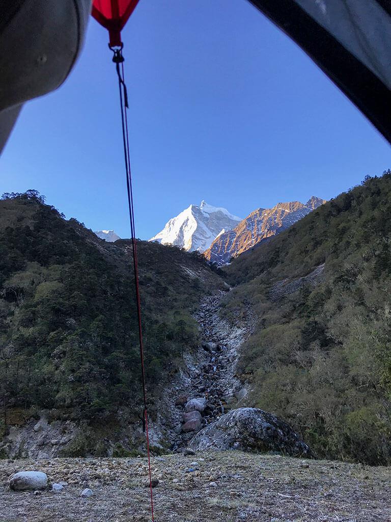 Кемпинг в Гималаях
