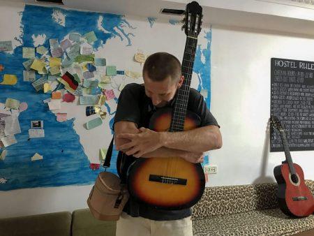 Прощаюсь с гитарой