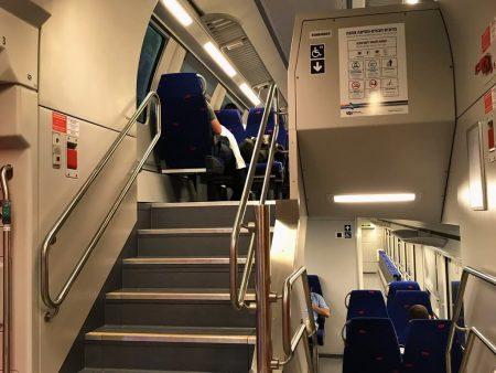 Поезд Хайфа - Тель-Авив