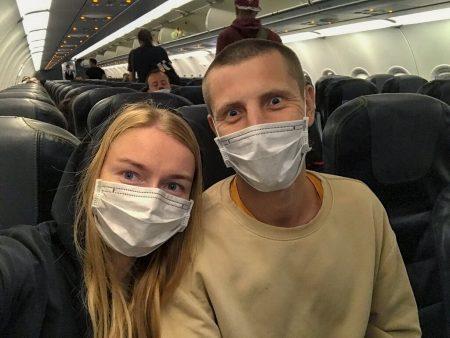 Ура! Мы в самолете до Турции