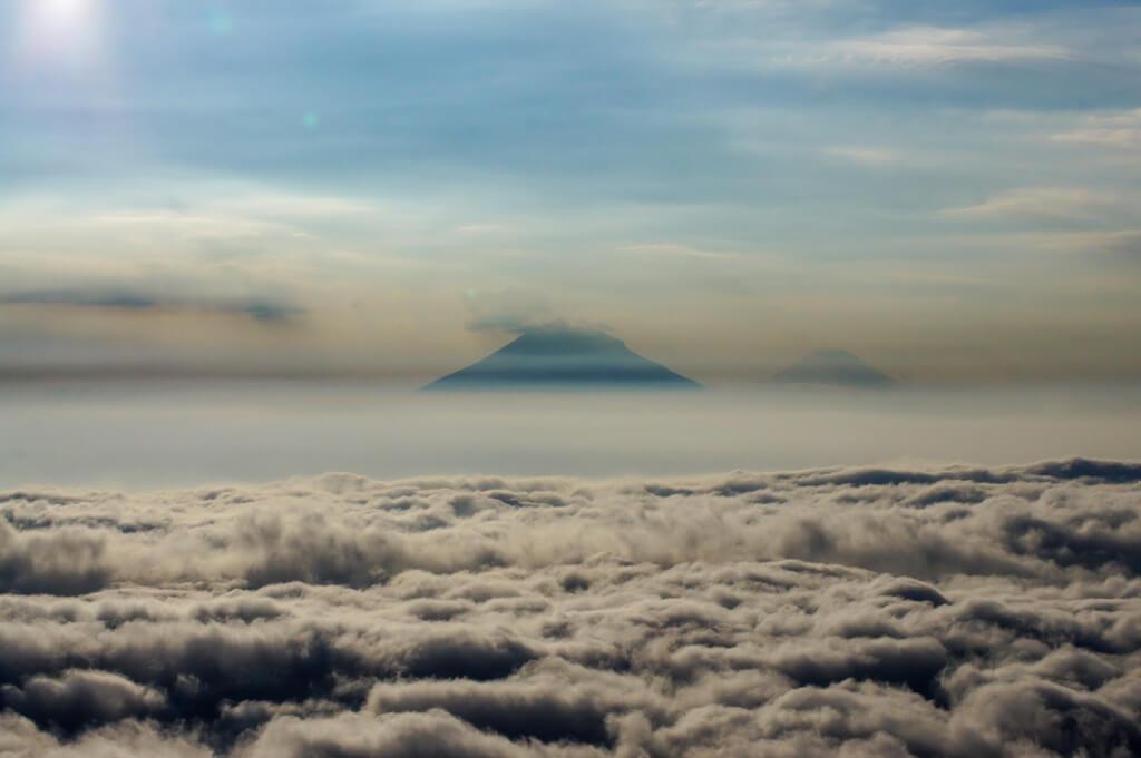 Volcano Merapi, Indonesia. 1.08.2018