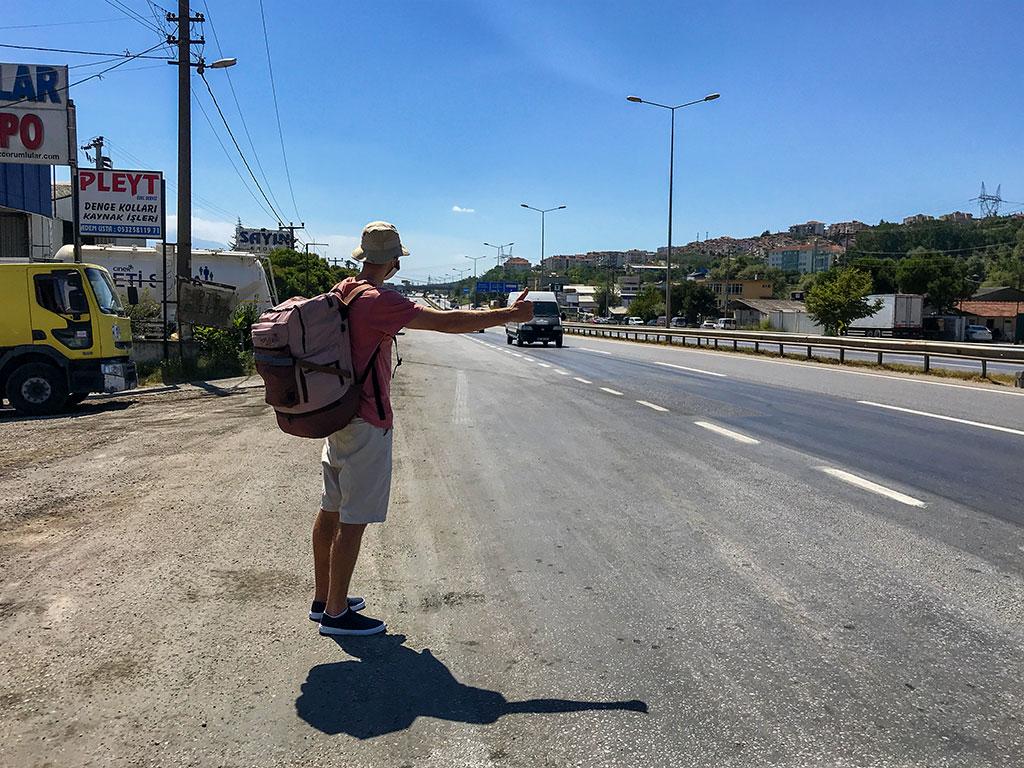 Автостоп по Турции