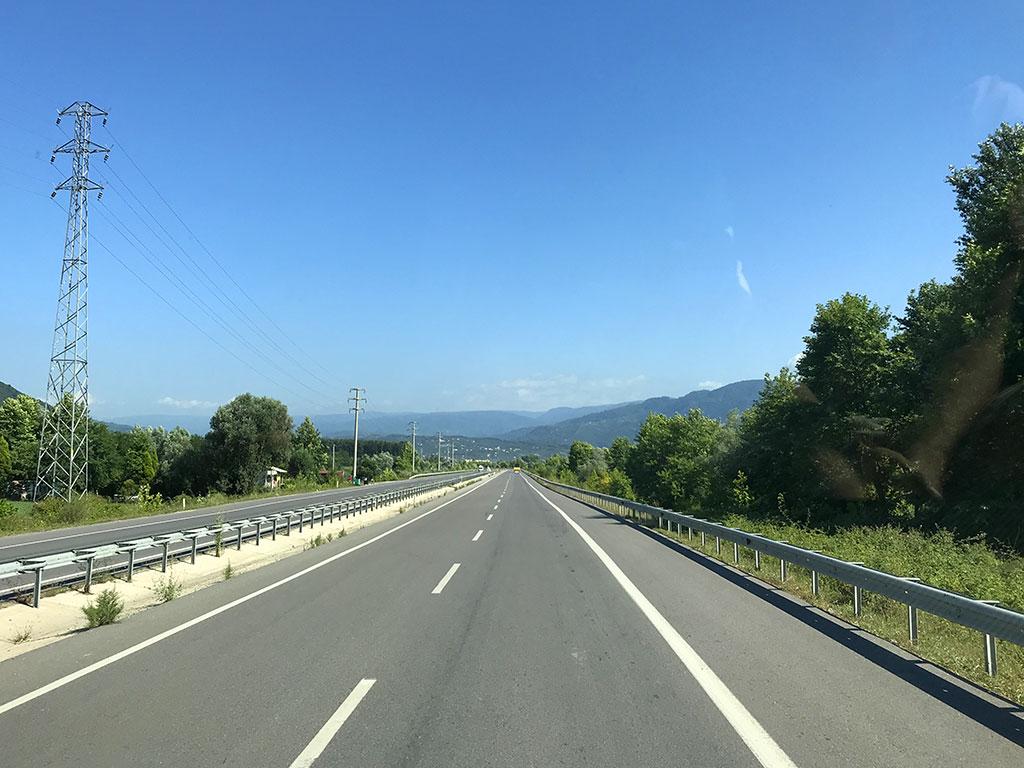 Автостоп в Турции