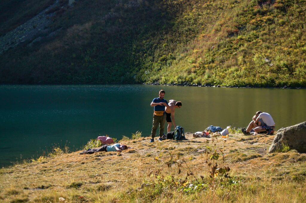 озеро Мзы, Абхазия