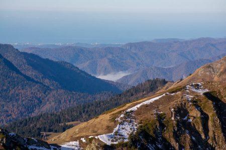 Черноморское побережье. Вид с Аибги